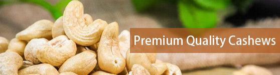 Premium Quality Cashews